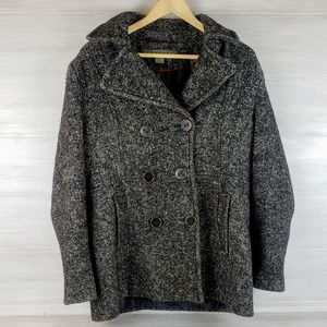 Kenneth Cole Reaction Wool Blend Coat